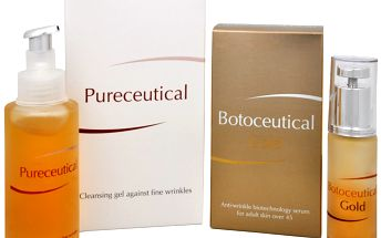 Herb Pharma Botoceutical Gold sérum 25 ml + Pureceutical - čistící gel proti jemným vráskám 125 ml AKCE