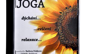 Jóga - dýchání, cvičení, relaxace CD