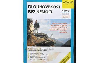 DVD DiDact Dlouhověkost bez nemocí 4 DVD - celková rovnováha těla a mysli