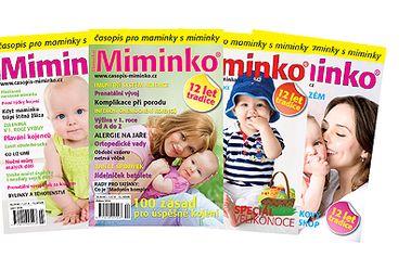 Roční předplatné časopisu Miminko za 179 Kč! Včetně poštovného!