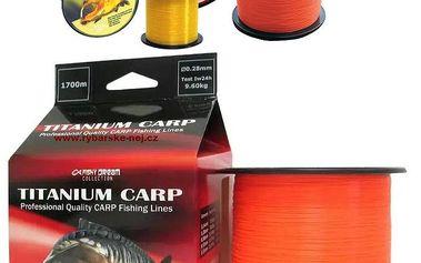 Vlasec fishy dream titanium carp a titanium pro-metráž