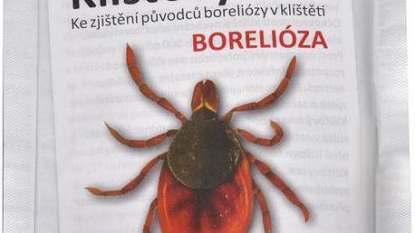 Karl Heinz Lackerbauer Klíšťový test - ke zjištění původců boreliózy v klíštěti