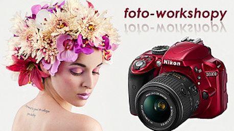 Fotoworkshop - portrétní fotografie v ateliéru, základy svícení studiovými blesky 4.5.