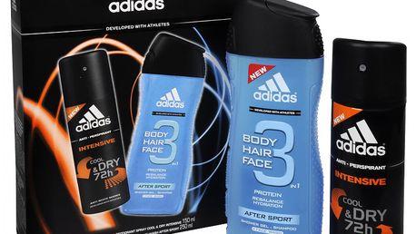 Adidas Dárkový set pro muže After Sport + Intensive