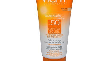 Vichy Ochranný zabarvený krém na obličej SPF 50+ Capital Soleil 50 ml