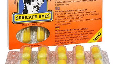 Suricate eyes 10 kapslí - prevence kocoviny pro konzumaci alkoholických nápojů