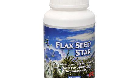 Starlife Flax Seed Star 60 tob. - podpora srdce a nervového systému