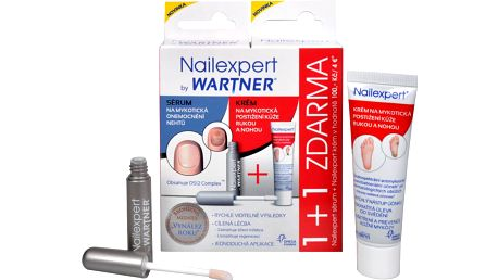 Omega Pharma Nailexpert pack sérum 4 ml + krém 30 g ZDARMA