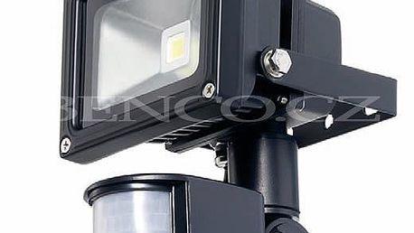 LED reflektor 10W s pohybovým senzorem - AKCE 20%