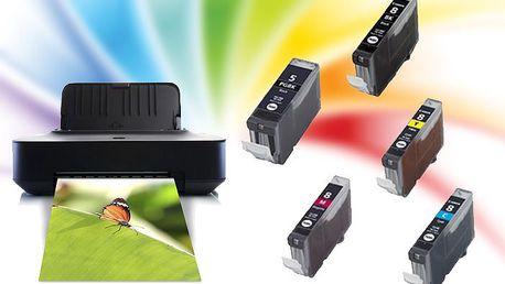 Dvě varianty kompatibilních náplní do tiskáren Canon