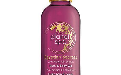 Avon Olej na tělo a do koupele s výtažky z leknínu Planet Spa 150 ml