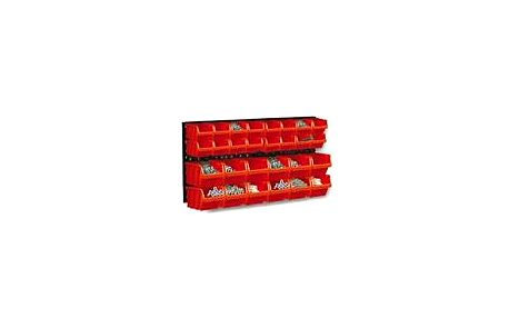 Tabule na nářadí, víceúčelová tabule s boxy na nářadí a šroubky ORDERLINE NP1