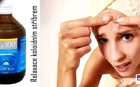 Relaxace koloidním stříbrem - zábal v délce trvání 15 min. Zbavte se nepříjemných zdravotních neduhů, stříbro je celosvětově známým účinným podpůrným prostředkem při léčení chorob vyvolaných bakteriální nákazou a chorob virového původu.