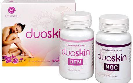 Celius DuoSkin 60 kapslí - poskytuje pleti dokonalou denní a noční péči proti projevům stárnutí