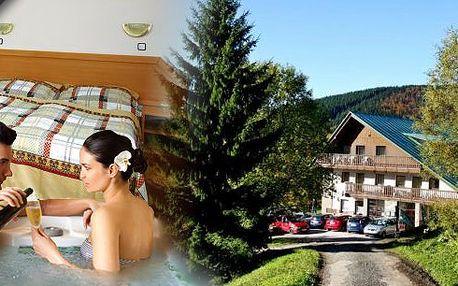 Pobyt ve 3* Wellness hotelu IDOL pro 2 osoby na 3 dny. Snídaně s vital koutkem, tříchodové večeře, privátní vířivka se sklenkou sektu. Odpolední káva a sleva na balneo! Užijte si dovolenou na Dolních Mísečkách v Krkonošském národním parku.