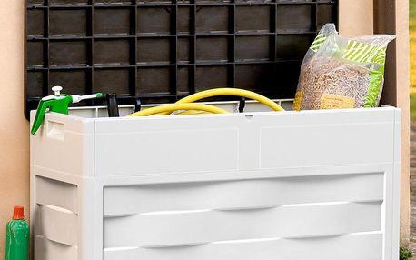 Zahradní úložný box Ambition, úložný box na nářadí a polsty 320 L