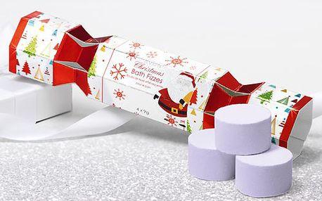 Avon Rozpustné koupelové tablety - vánoční balení (Christmas Bath Fizzes) 4 x 9g