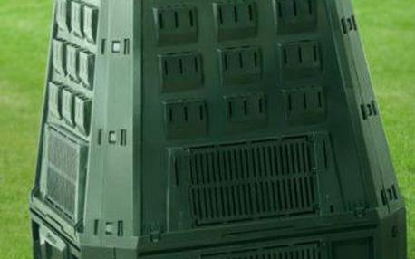 Kompostér EvoGreen 600L, CEV 600L, zahradní kompostér zelený