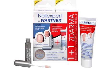 Omega Pharma Nailexpert pack sérum 4 ml + krém 30 g ZDARMA
