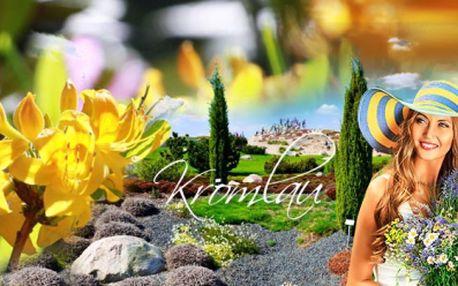 POZNÁVACÍ ZÁJEZD do květinového zámeckého parku v NĚMECKU KROMLAU - největší evropské zahrady rododendronů, azalek a NOCHTEN - říše skalniček, vřesovišť a křovin! Pouhých 590 Kč včetně DOPRAVY a služeb PRŮVODCE!