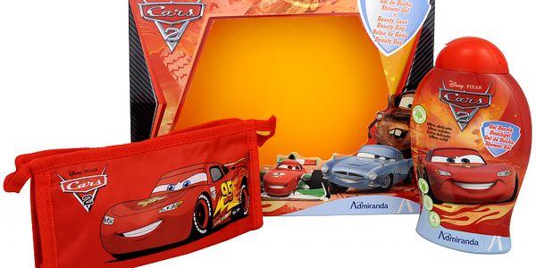 Disney Dárková sada s kosmetickou taškou Cars