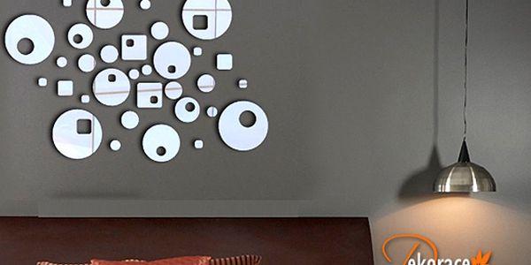 3D zrcadlové samolepky na zeď