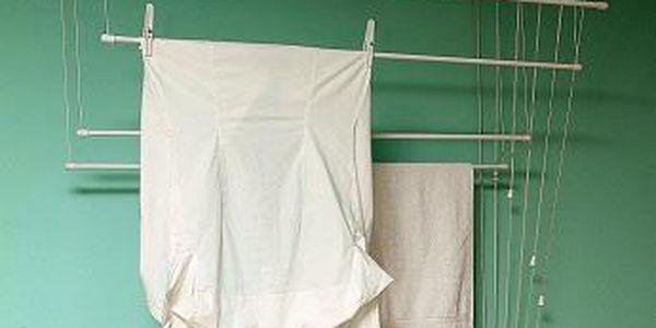 BENCO Stropní sušák na prádlo IDEAL 7 tyčí 150 cm, vytahovací sušák na prádlo - AKČNÍ NABÍDKA