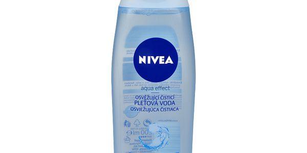 Nivea Osvěžující čisticí pleťová voda pro normální až smíšenou pleť Aqua Effect 200 ml