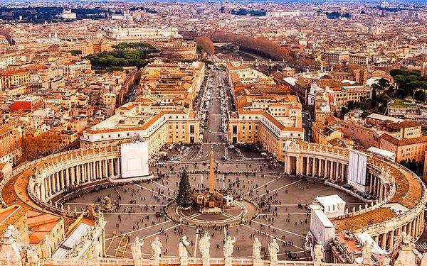 4denní poznávací zájezd do Vatikánu, Říma a na ostrov Capri