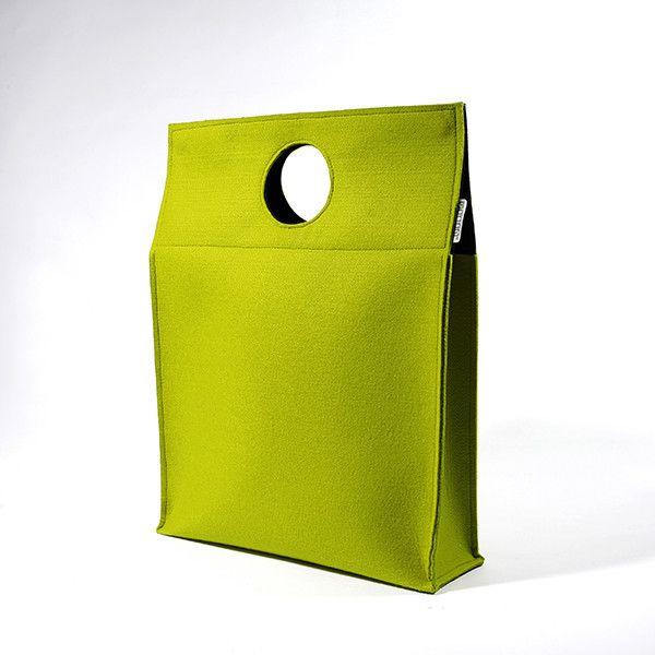 Originální taška MAMMA, limetkovo-černá