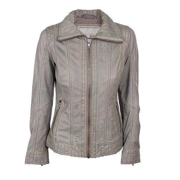Dámská šedá bunda s prošíváním Company&Co