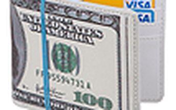 Originální peněženka BALVI 100 Dollars na bankovky a platební karty