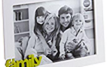 Fotorámeček BALVI Family, 15x20cm, bílý