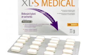 XLtoS Medical Blokování kalorií ze sacharidů 60 tbl.