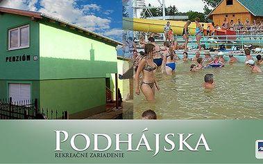 Týdenní pobyt pro 2 osoby nebo pro rodinu v Penzionu Alfa, Podhájska na Slovensku. Dokonalá krajina a nejznámější termální koupaliště Slovenska vzdálené jen 10 minut! Vychutnejte si Vaši dovolenou!!