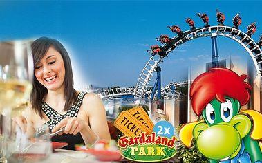 Itálie - zábavní park Gardaland sleva 35 %