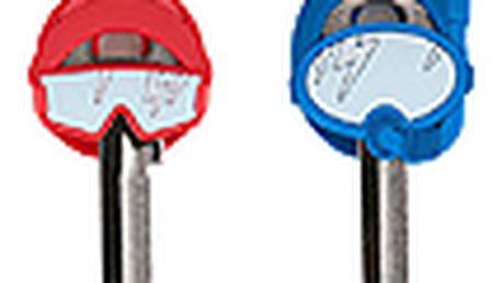 Rozlišovače klíčů BALVI Key People, 2ks, červený/modrý