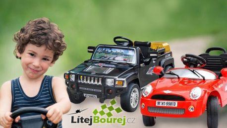 Zabavte své děti na dlouhé hodiny! Čtyřkanálové elektrické autíčko, které můžete ovládat i vy pomocí dálkového ovládání již od 999 Kč! Několik modelů a barev!