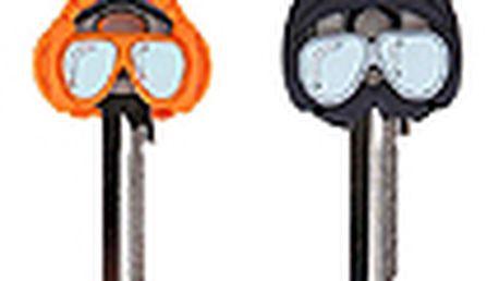 Rozlišovače klíčů BALVI Key People, 2ks, oranžový/šedý