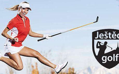50% sleva na golfový pobyt pro 2 se snídaní v Golf Clubu Ještěd!