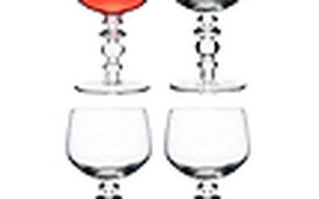 Sklenice na víno SAGAFORM Spectra, 4ks, čiré