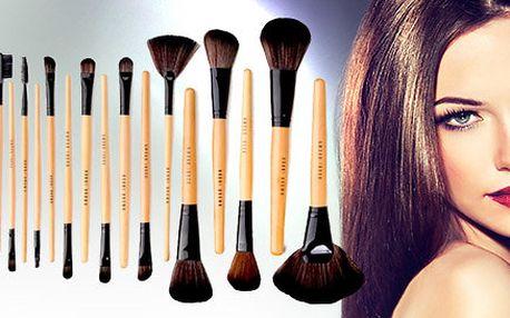 24 luxusních štětců na make-up