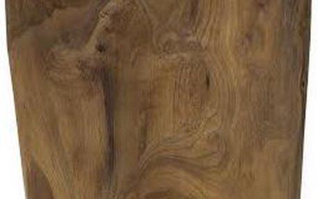 Dřevěná taburetka Rond - doprava zdarma!