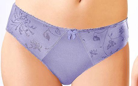 Komfortní kalhotky Dalaja Lavender klasického střihu