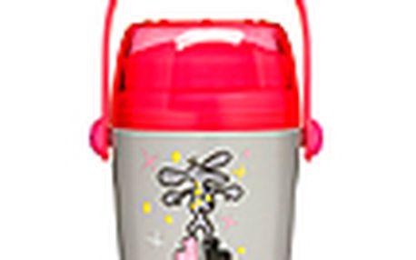 Dětská termoska na jídlo - SAGAFORM Cosmos, 0,5L, stříbrná