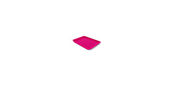 Protiskluzný podnos - JOSEPH JOSEPH Grip Tray™, velký/růžový