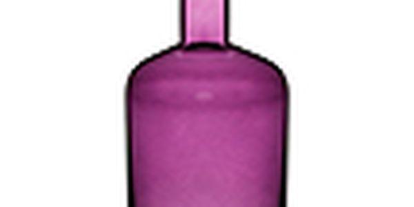 Váza s nástavcem na svíčku - SAGAFORM Pava, velká, fialová