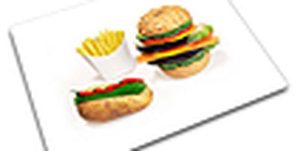Skleněná podložka - JOSEPH JOSEPH Worktop Saver - 30x40cm, Fast Food