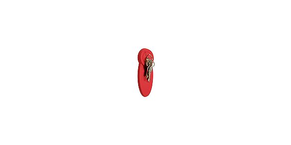 Magnetický držák klíčů MODE Keypad, červený