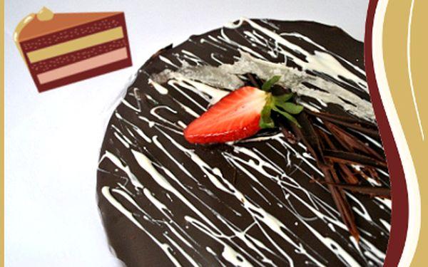 Luxusní dorty od 199 Kč! Čokoládový nebo cheesecake!
